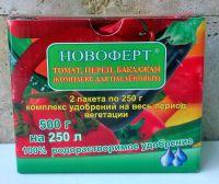 """Удобрение Новоферт """"Помидоры, перец, баклажаны""""  500г"""