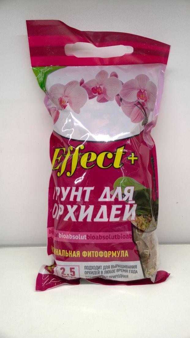 """Грунт для орхидей """"Effect+"""" 2,5л"""